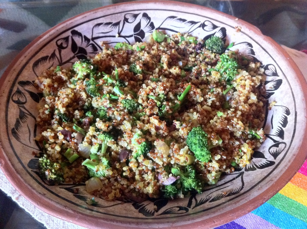 Holli Thompson - Saffron Quinoa with Seasonal Vegetables
