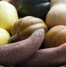 squash-sweet potato-fall produce