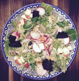 Hollis' heart love salad