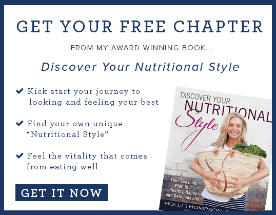 "Get Your Free Chapter of ""Discover Your Nutritional Style"""