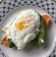 Egg and Avocado on Sweet Potato Toast600x800
